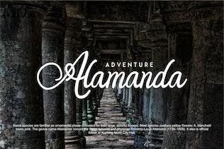 Thumbnail for Orlandia   Beauty Font Elegant