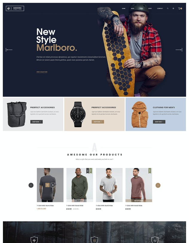 Marlboro- Multipurpose Responsive Prestashop Theme - product preview 2