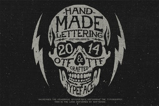 Thumbnail for American Handmade Typeface
