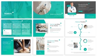 Thumbnail for Demedic - Medical Google Slides Template
