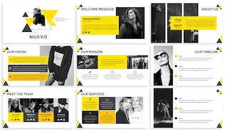Nuevo - Abstract Google Slides Template