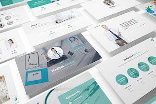 Thumbnail for Medical Centre Keynote Presentation Template