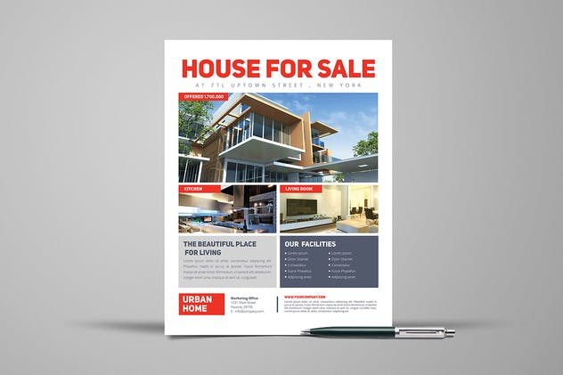 3 Urban Real Estate Flyers