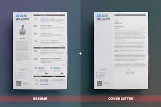 Thumbnail for Clean Resume/Cv Volume 1