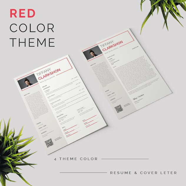 Resume & Cover Letter Template - product preview 2