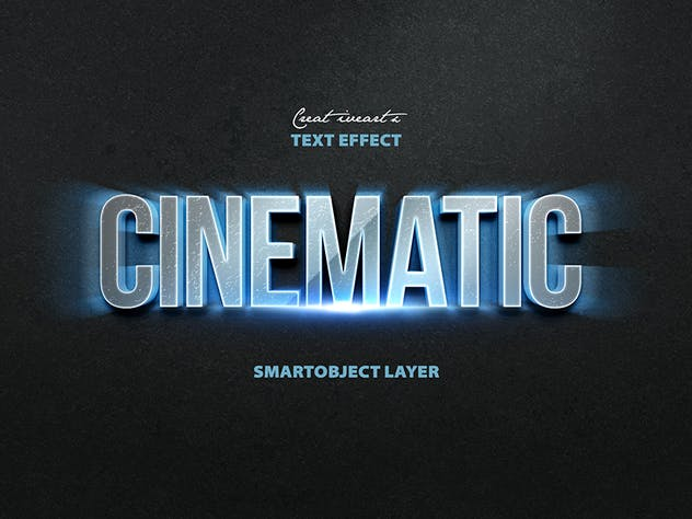Cinematic 3D Text - product preview 7