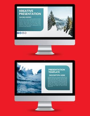 Thumbnail for Kreative Keynote Presentation Template