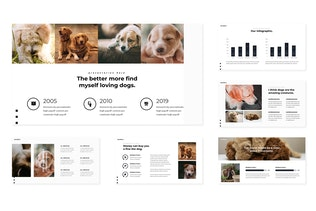 Thumbnail for Puppies -  Google Slides Template