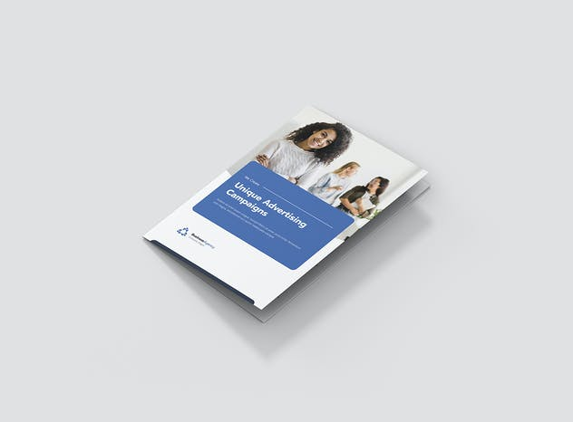 Brochure – Business Agency Tri-Fold A5 - product preview 2