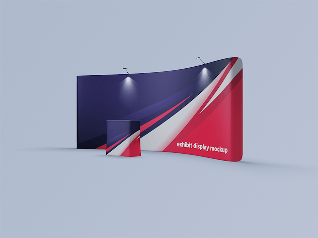 Exhibition Display Mockup - product preview 3