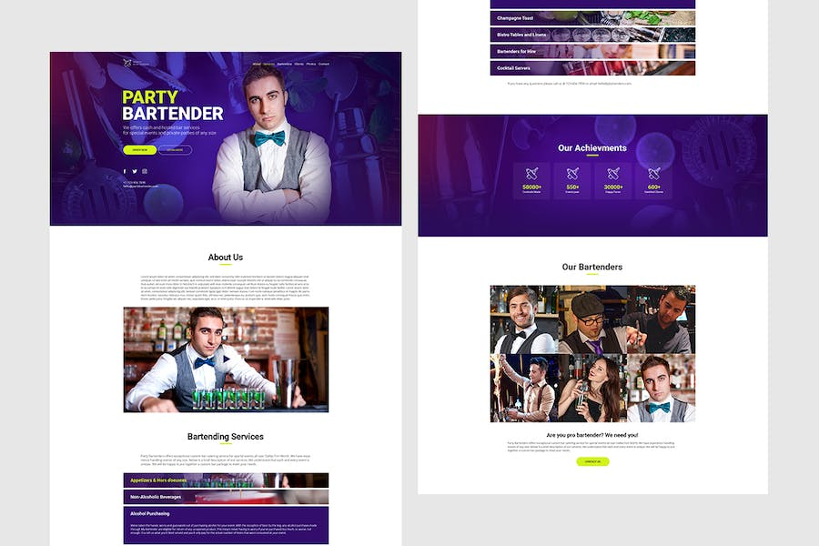 Party Bartender - Bartending Services / Catering - product preview 1