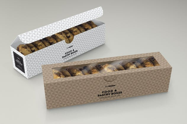 Food Pastry Boxes Vol.2: Packaging Mockups - product preview 7