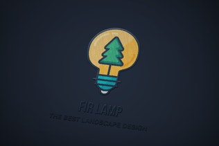 Thumbnail for Creative Landscape Design Logo Template
