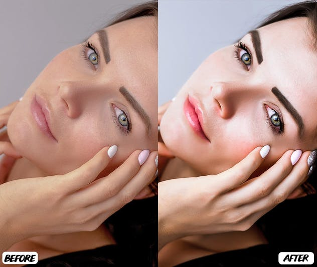 Skin Retouch Lightroom Presets - product preview 5
