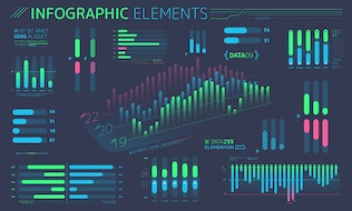 Thumbnail for Flat Infographic Elements
