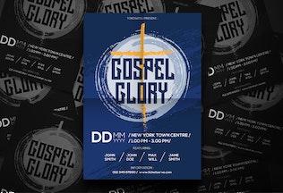 Thumbnail for Gospel Music Flyer