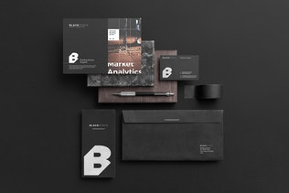 Thumbnail for Blackstone Branding Mockup Vol. 2