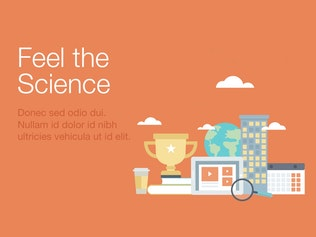 Thumbnail for Feel the Science Google Slides Template