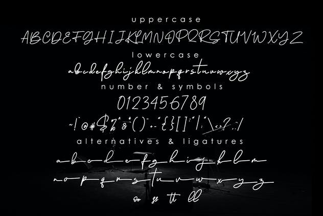 Ramtul - Signature Font