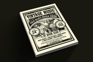 Thumbnail for Vintage Music Flyer