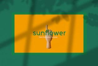 Sunflowers - Powerpoint Creative Business Company