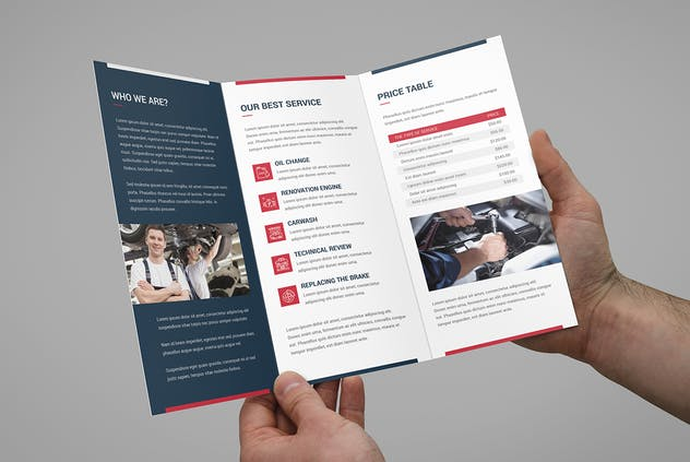 Brochure – Auto Repair Tri-Fold - product preview 4