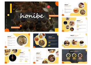 Миниатюра для Honibe | Шаблон слайдов Google