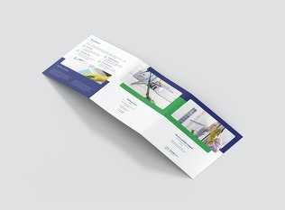 Thumbnail for Brochure – Cleaning Service Tri-Fold Square