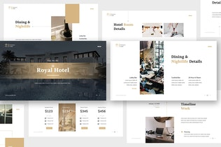 Thumbnail for Hotel Keynote Presentation Template