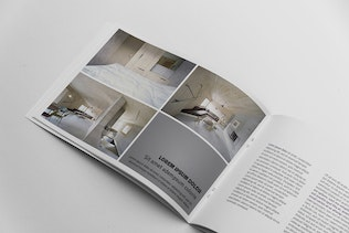 Thumbnail for Booklet Catalogue Template