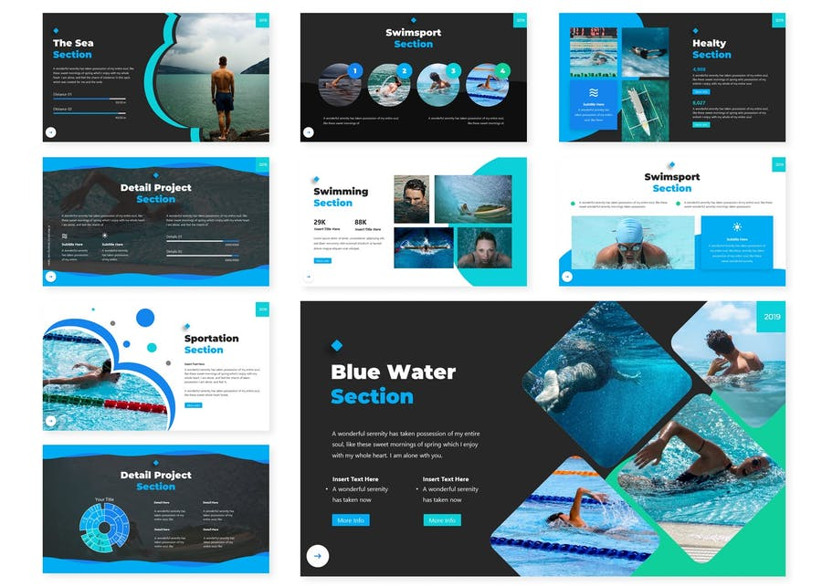 Swema | Keynote Template - product preview 2