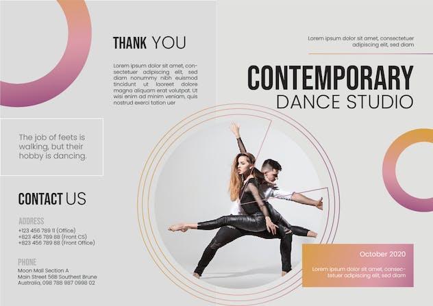 Dance Studio Brochure - product preview 3