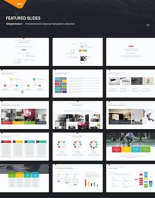 Thumbnail for Ikon Multipurpose Powerpoint Template