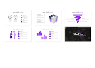 Thumbnail for Master Business - Keynote Template