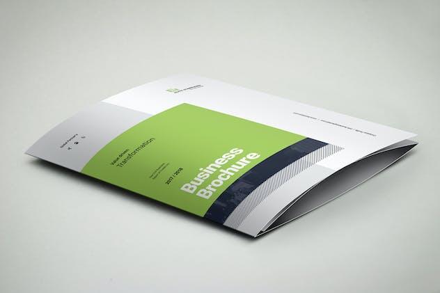 3xA4 Trifold Brochure