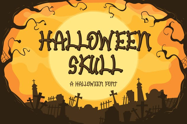 Halloween Skull - product preview 1