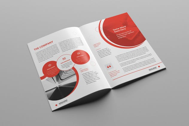 Annual Report A4 & Us Letter - product preview 3