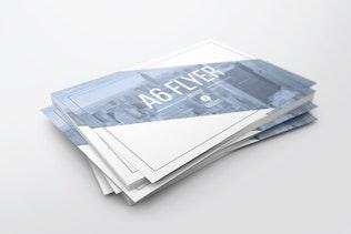 Thumbnail for A6 Flyer Mockups