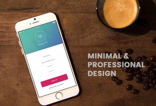 Thumbnail for UU - Minimal Mobile UI Kit Part 03 Sign Up form