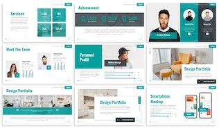 Thumbnail for Kakkie - Interior Design Google Slides Template