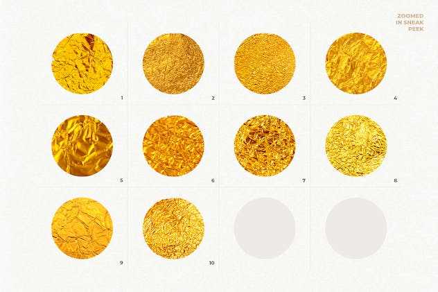 10 Gold Textures Vol. 1 - product preview 2