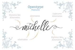 Thumbnail for Stefhanie Typeface