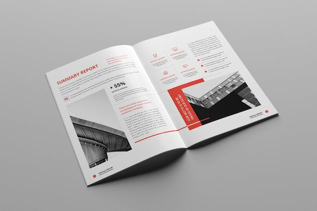 Annual Report A4 & Us Letter - product preview 10