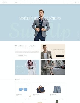 Thumbnail for Fashionist - Shopify Theme