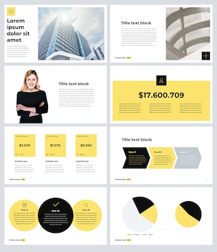 Thumbnail for Business Report PRO Keynote Template