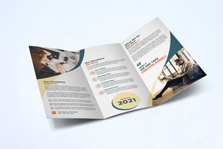 Thumbnail for Trifold Business Brochure