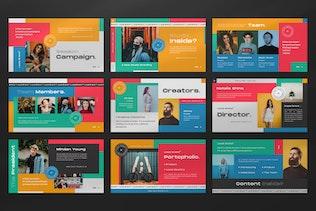 Thumbnail for Local Brand Creative Business Google Slide