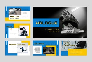 Thumbnail for Halogue - Creative Powerpoint Presentation