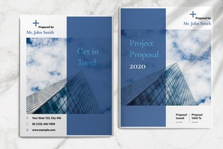 Thumbnail for Blue Business Proposal Layout