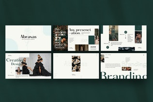 Thumbnail for ABRAXAS - Creative Corporate Business powerpoint